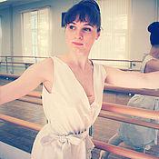 Одежда ручной работы. Ярмарка Мастеров - ручная работа Платье в бельевом стиле, распродажа, скидка 35%. Handmade.