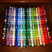 """Посуда ручной работы. Ярмарка Мастеров - ручная работа тарелка """" Цветное плетение"""". Handmade."""