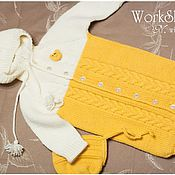 Работы для детей, ручной работы. Ярмарка Мастеров - ручная работа Конверт для новорожденного. Handmade.