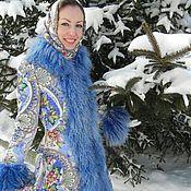 """Одежда ручной работы. Ярмарка Мастеров - ручная работа Пальто """"Зимняя сказка"""".. Handmade."""