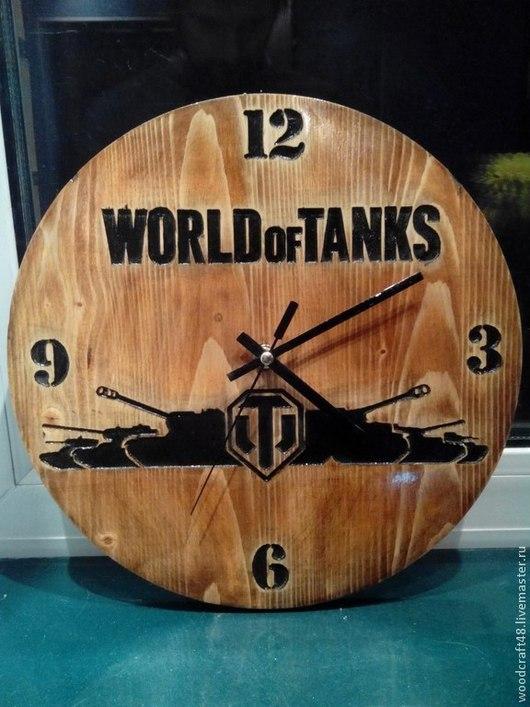 Часы `World of Tanks`