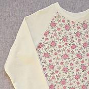 Одежда ручной работы. Ярмарка Мастеров - ручная работа Свитшот в стиле Шебби шик. Handmade.