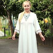 "Одежда handmade. Livemaster - original item Knitted dress ""boho style"" summer dressy. Handmade."