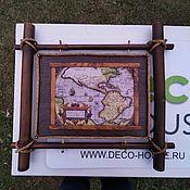 Панно ручной работы. Ярмарка Мастеров - ручная работа Картина из бамбука. Handmade.