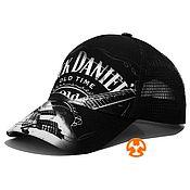 Аксессуары handmade. Livemaster - original item Jack Daniel`s Fullprint Combination Baseball Cap. Handmade.