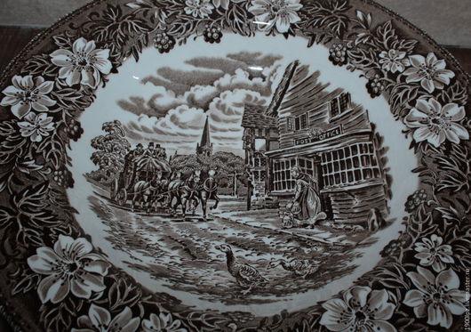 Винтажная посуда. Ярмарка Мастеров - ручная работа. Купить Глубокие тарелки, 4 шт. Англия.. Handmade. Глубокие тарелки англия