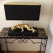 Для дома и интерьера handmade. Livemaster - original item wrought iron console table mosaic