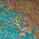 Шарфы и шарфики ручной работы. Платок, выполненый в техники Эбру (рисунок по воде). Ann Iva (ebru). Интернет-магазин Ярмарка Мастеров.