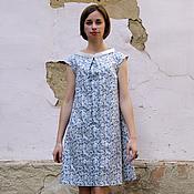 Одежда ручной работы. Ярмарка Мастеров - ручная работа Платье-трапеция. Handmade.