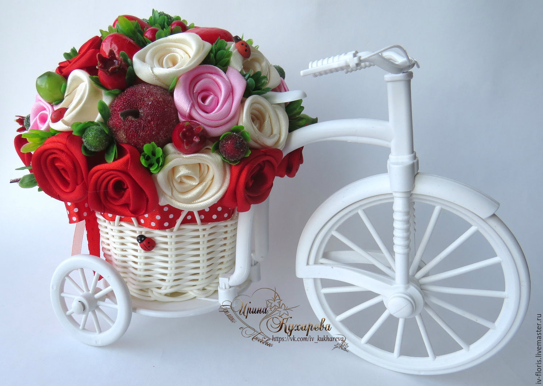 Топиарий на велосипеде своими руками