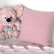 Для дома и интерьера ручной работы. Ярмарка Мастеров - ручная работа Вязаная подушечка. Handmade.