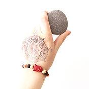 Украшения handmade. Livemaster - original item Bracelet with Buddha and Bodhi seeds. Handmade.
