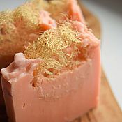 """""""Розовое с люфой"""" мыло сварено по старинным рецептам"""
