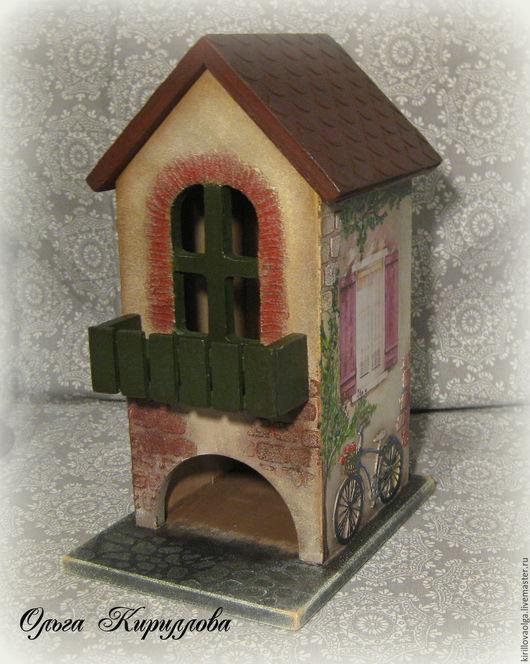 """Кухня ручной работы. Ярмарка Мастеров - ручная работа. Купить Чайный домик """"Привет из Прованса"""". Handmade. Комбинированный, чайный короб"""