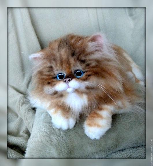 Игрушки животные, ручной работы. Ярмарка Мастеров - ручная работа. Купить Большой диванный Кот). Handmade. Кот, котенок