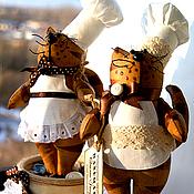 """Куклы и игрушки ручной работы. Ярмарка Мастеров - ручная работа Кот """"Кофе и шоколад"""". Handmade."""