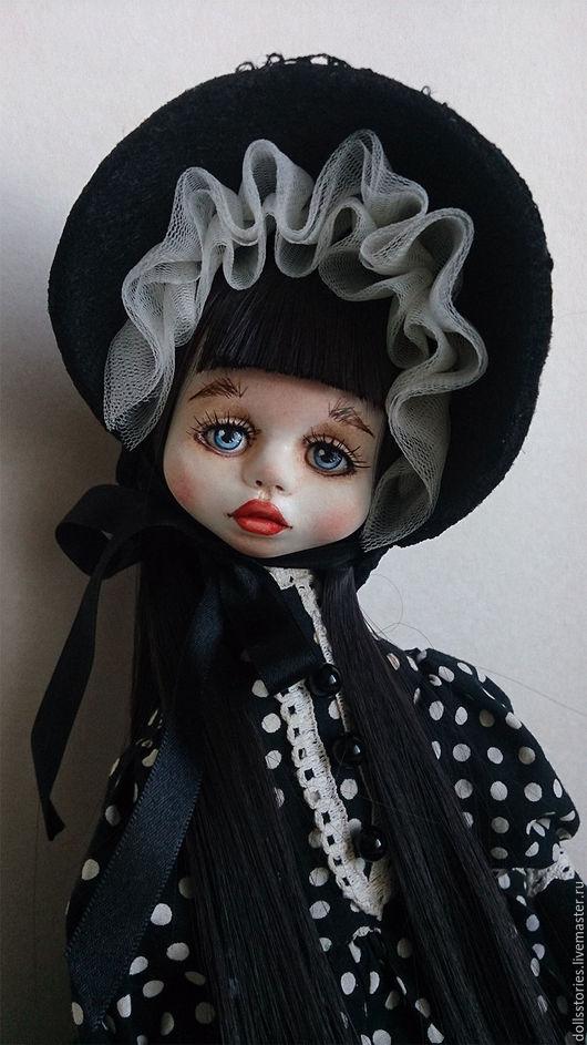 Коллекционные куклы ручной работы. Ярмарка Мастеров - ручная работа. Купить Авторская коллекционная кукла Изабель. Handmade. Черный