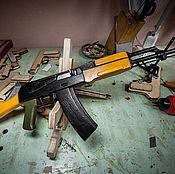 Другое бутафорское оружие ручной работы. Ярмарка Мастеров - ручная работа Макет стреляющий автомата АК74. Handmade.