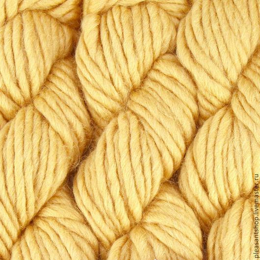 Вязание ручной работы. Ярмарка Мастеров - ручная работа. Купить Mirasol Sulka Camel. Handmade. Ровница для валяния, вязание на заказ
