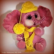 Куклы и игрушки ручной работы. Ярмарка Мастеров - ручная работа Слоненок Филипп. Handmade.