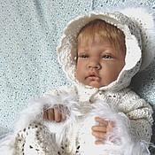 """Работы для детей, ручной работы. Ярмарка Мастеров - ручная работа Комплект для новорожденных вязаный """"Беляночка"""". Handmade."""