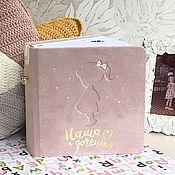 Фотоальбомы ручной работы. Ярмарка Мастеров - ручная работа Детский альбом продан !!!возможен повтор ). Handmade.