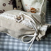 Для дома и интерьера handmade. Livemaster - original item Linen bags of herbs, mushrooms or gifts. Handmade.