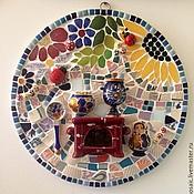"""Картины и панно ручной работы. Ярмарка Мастеров - ручная работа Мозаика """"Лето в деревне"""". Handmade."""