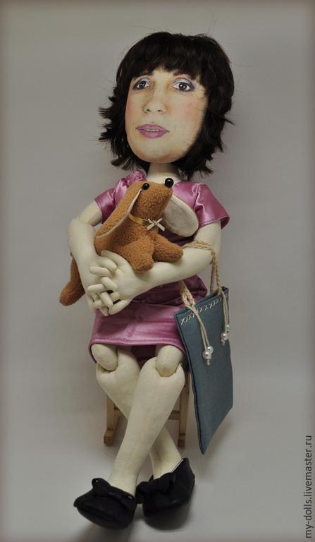 Портретные куклы ручной работы. Ярмарка Мастеров - ручная работа. Купить Портретная кукла в подарок маме. ВРЕМЕННО НЕ ДЕЛАЮ. Handmade.