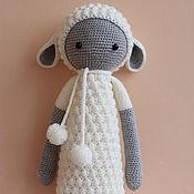 Куклы и игрушки ручной работы. Ярмарка Мастеров - ручная работа Овечка Лупо. Handmade.