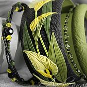 Украшения handmade. Livemaster - original item Cvetochnye bracelets