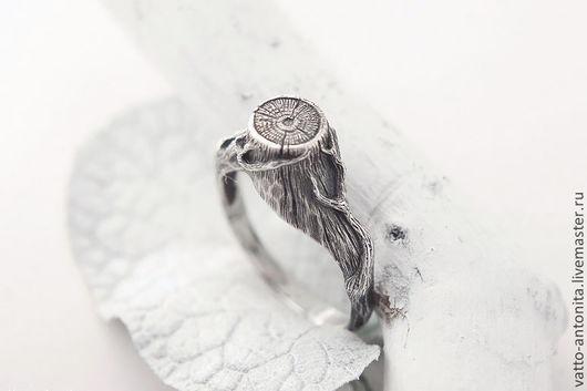 Кольца ручной работы. Ярмарка Мастеров - ручная работа. Купить кольцо из серебра Ведьмин Пень, кольцо серебро. Handmade.
