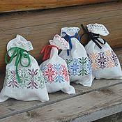 Для дома и интерьера handmade. Livemaster - original item A bag of flax