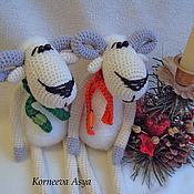Куклы и игрушки ручной работы. Ярмарка Мастеров - ручная работа Две барашки. Handmade.