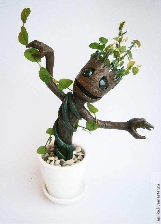 """Сказочные персонажи ручной работы. Ярмарка Мастеров - ручная работа. Купить Грут (Groot) из фильма """"Guardians Of The Galaxy"""". Handmade."""
