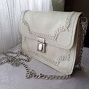 Сумки и аксессуары handmade. Livemaster - original item Handbag. Leather. Manual work of authorship Alia Svalia. Handmade.