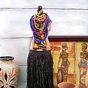 """Для дома и интерьера ручной работы. Ярмарка Мастеров - ручная работа Мини-манекен """" Загадочная Африка"""". Handmade."""