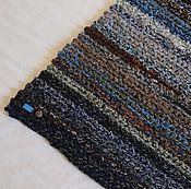 Для дома и интерьера ручной работы. Ярмарка Мастеров - ручная работа вязаный коврик меланж прямоугольный. Handmade.