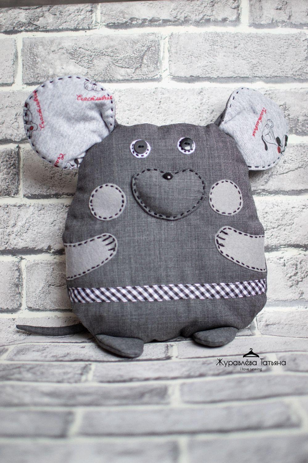 Серая мышка, Мягкие игрушки, Санкт-Петербург,  Фото №1