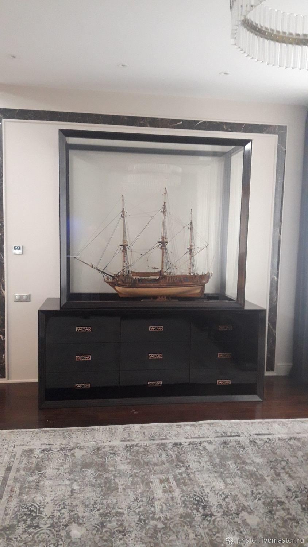 комод с витриной под корабль, Комоды, Истра,  Фото №1