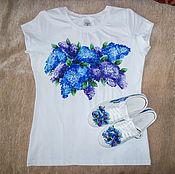 Одежда handmade. Livemaster - original item Set: t-shirt and sneakers
