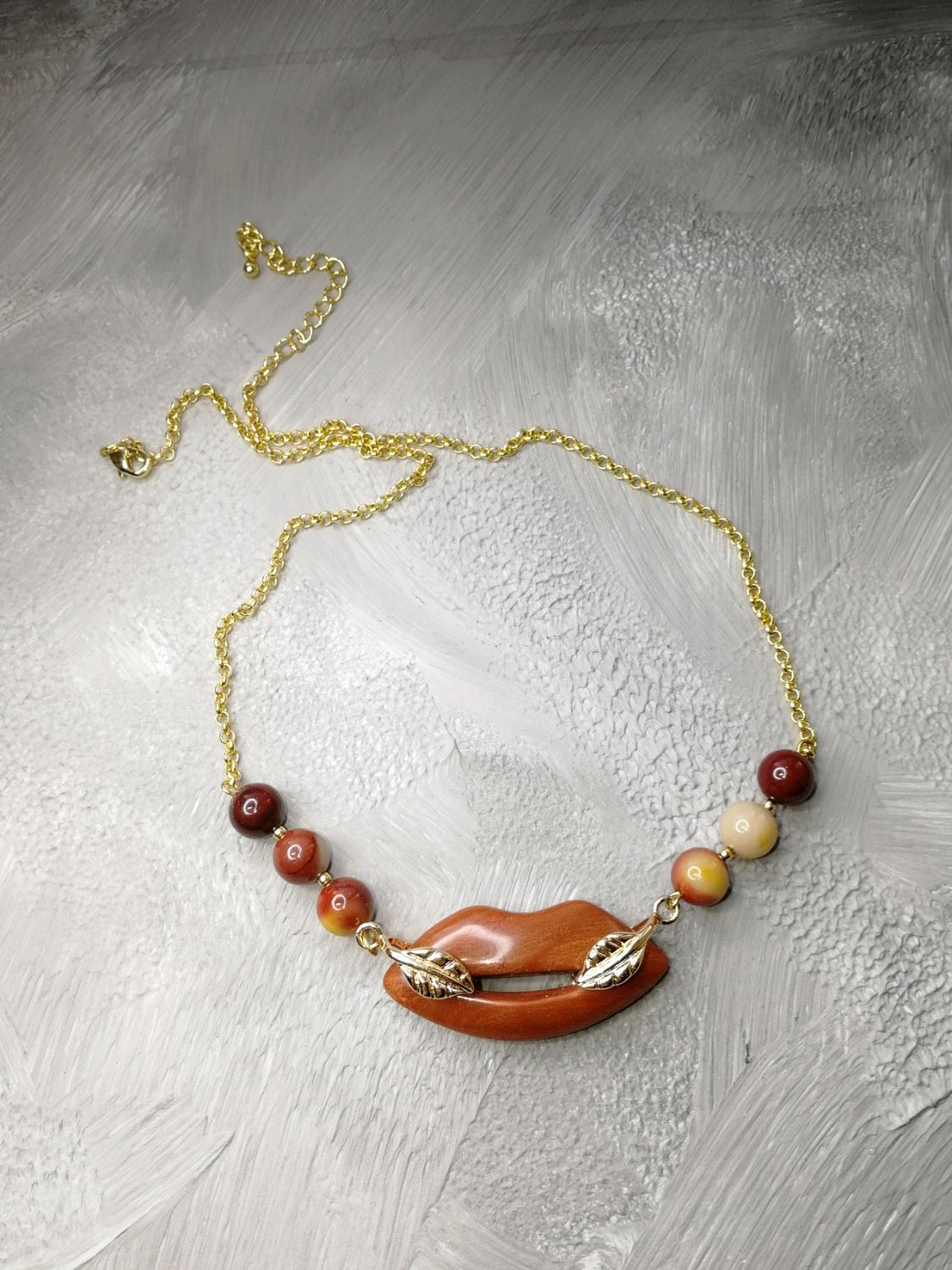Necklace made of Jasper Kiss, Necklace, Moscow,  Фото №1