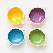 Посуда ручной работы. Ярмарка Мастеров - ручная работа ушастая супница. Handmade.