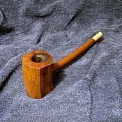 Сувениры и подарки handmade. Livemaster - original item Smoking pipe cherry and Walnut. Handmade.