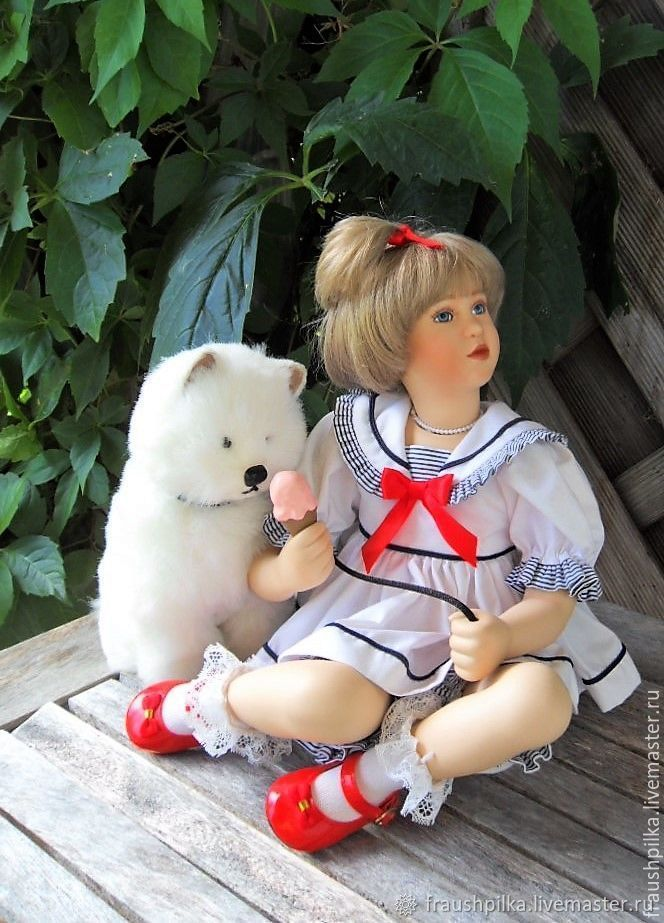 Collectible porcelain doll Madelayn and Harry, Dolls, Kempten,  Фото №1