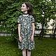 Одежда для девочек, ручной работы. Ярмарка Мастеров - ручная работа. Купить Платье с ежевикой. Handmade. Зеленый, платье для де