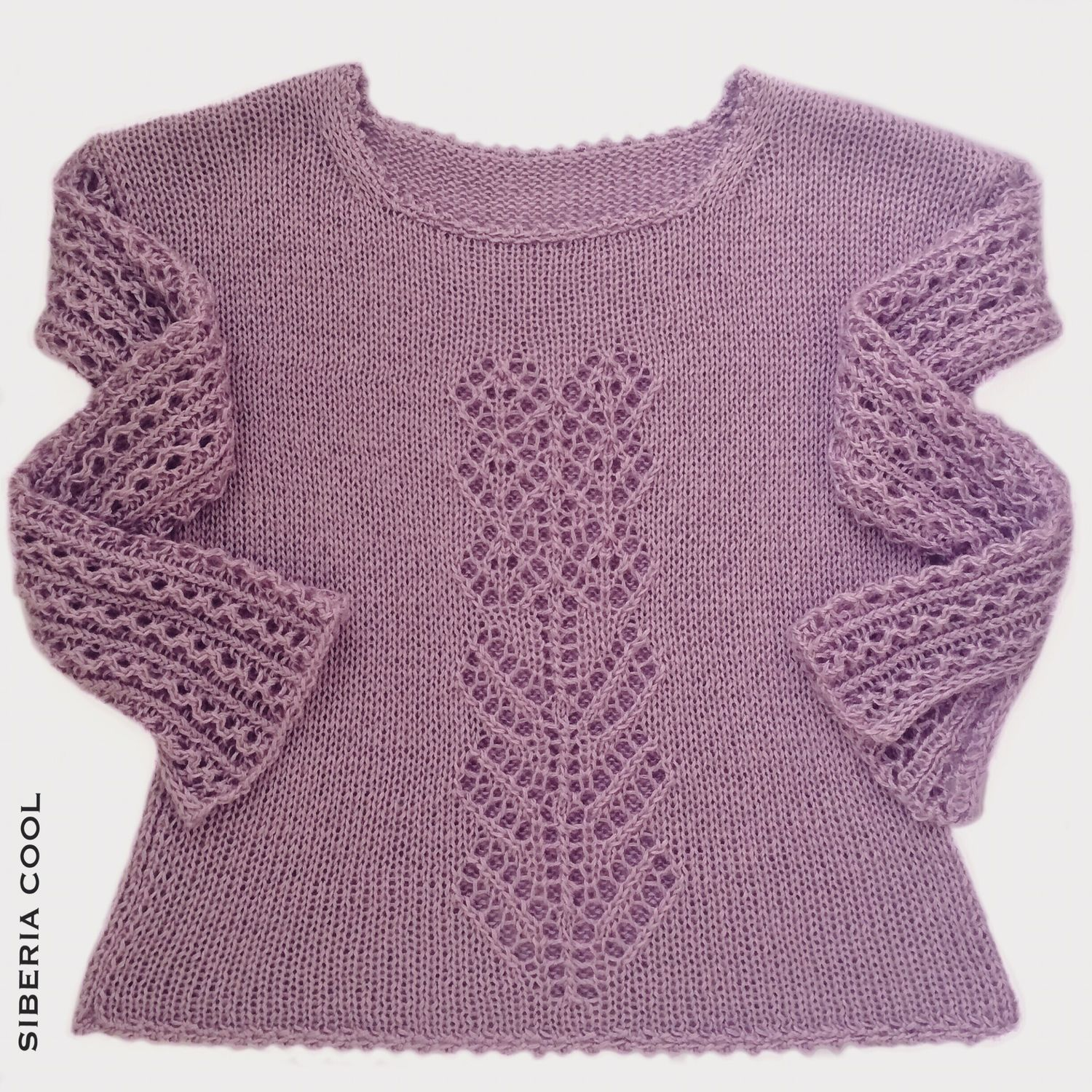 Sweater Jackets & Sweaters handmade. Livemaster - handmade. Buy Jumper female Lilac evening, knitted, summer, viscose.