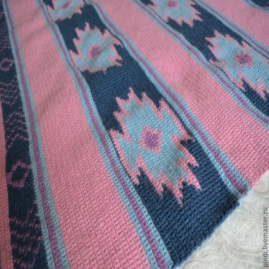 """Текстиль, ковры ручной работы. Ярмарка Мастеров - ручная работа. Купить Плед """"Навахо"""". Handmade. Плед крючком, ручное вязание"""