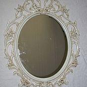 Для дома и интерьера handmade. Livemaster - original item Mirror in the style of SHABBY CHIC. Handmade.