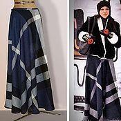 Одежда handmade. Livemaster - original item Skirt warm winter long bell